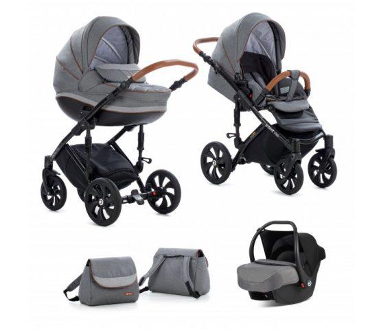 Tutis Mimi style 3 in 1 dark grey 332