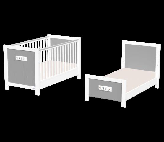 Casababy Petit βρεφικό κρεβάτι μετατρεπόμενο