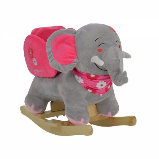 BEBESTARS Κουνιστό Ελεφαντάκι ροζ