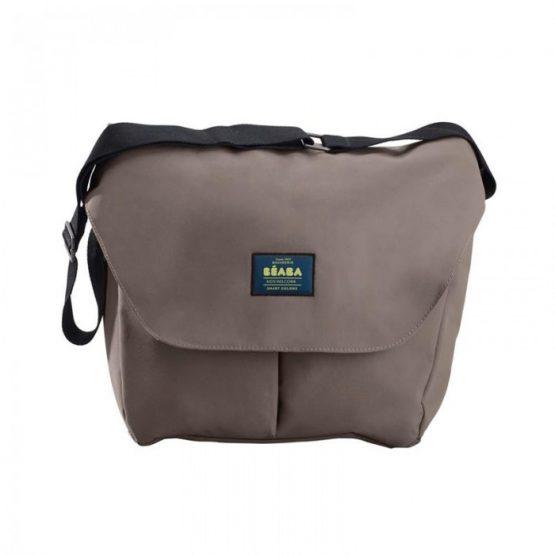 Τσάντα – αλλαξιέρα Beaba Vienna II Smart Colors Taupe