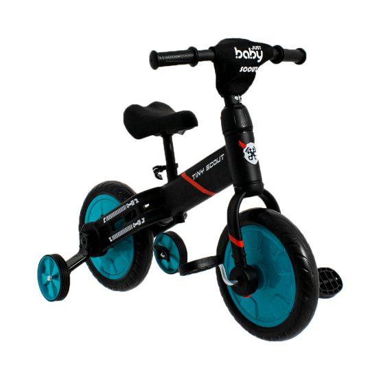 Just Baby Scout Ποδηλατάκι Ισορροπίας AQUA