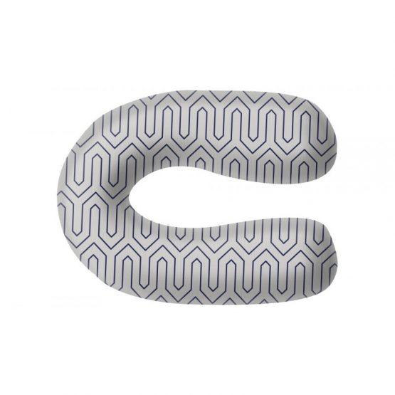 Grecostrom Standard Μαξιλάρι Θηλασμού Maze Grey